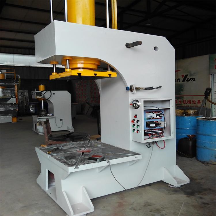 主页 产品世界 单臂式液压机 > 160t单柱液压机    技术参数;   1.