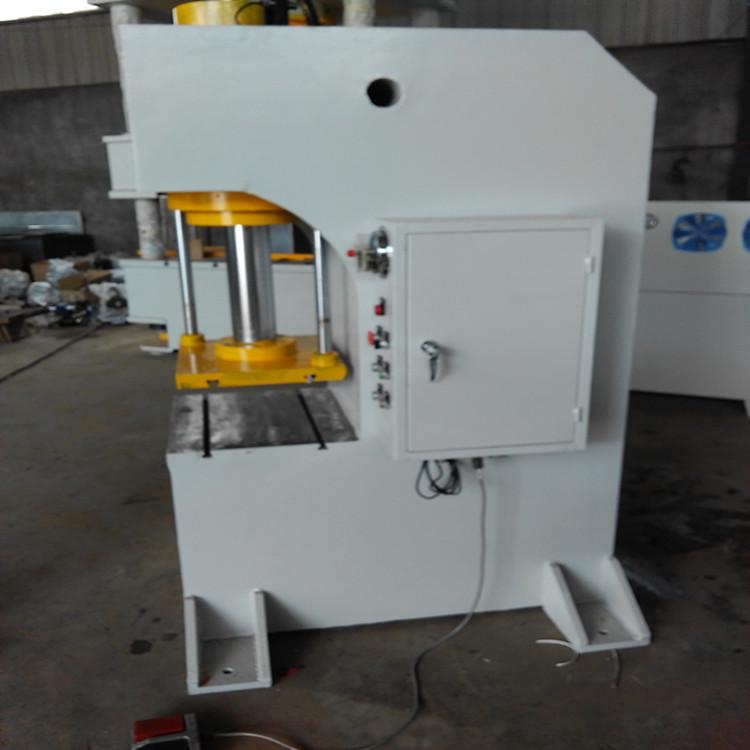 主页 产品世界 单臂式液压机 > 63吨单臂压力机  yq41-63t单柱液压机